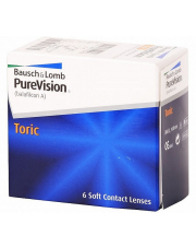 PureVision Toric 6 szt. (For Astigmatism)