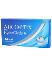 Air Optix Plus HydraGlyde 6 szt. - 24h + Complete RevitaLens 60ml GRATIS