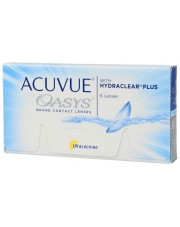 Acuvue Oasys 6 szt. - Moce magazynowe 24h