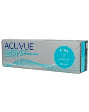 Acuvue 1-DAY Oasys 30 szt. with HydraLuxe - Moce magazynowe 24h